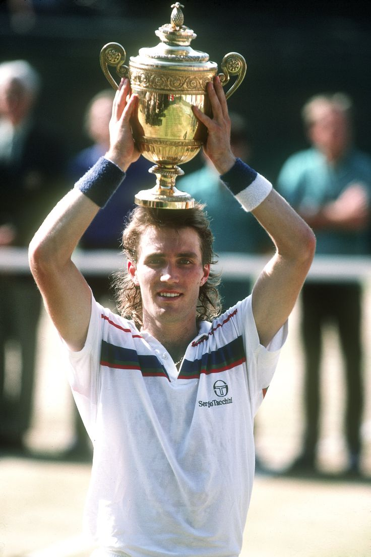 Pat Cash, Wimbledon Champion (one of the first guys I ever saw go into the crowd to hug his Dad)