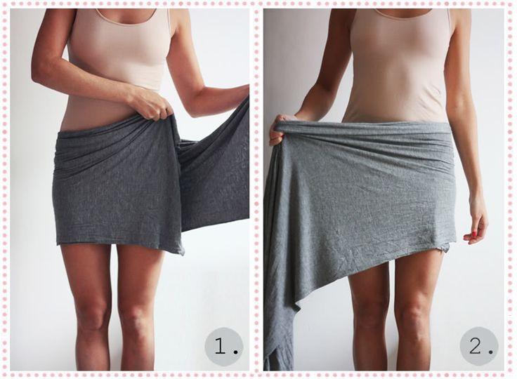 Her får I den længe ventede DIY guide til at binde en draperet nederdel, som jeg første gang viste i et indlægfra Kreta. Jeg har brugt et gammelt tørklæde fra…