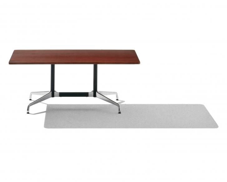 In 1964, the office of Charles and Ray Eames designed a table with a single segmented base, constructed of modular units that could support tops of different lengths and widths. Today, more than 40 years later, Eames tables remain a popular choice for those who appreciate durability and performance, as well as sleek and simple beauty. Designed by Charles & Ray Eames - 1964 for Herman Miller. categories: Meeting / Residential / Boardroom / Outdoor