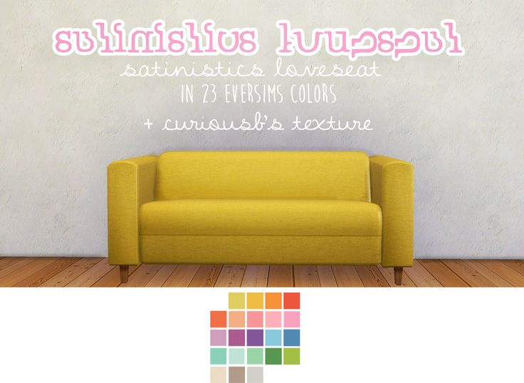 Maxis match cc for the sims 4 mayberries this sofa for Sofa bed sims 4