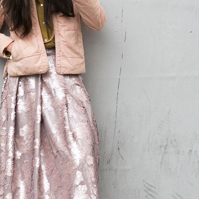 ELLE DECO INSTAGRAM TAKEOVER   STYLING by SHE IS VISUAL   SEQUIN SKIRT by Found Collection