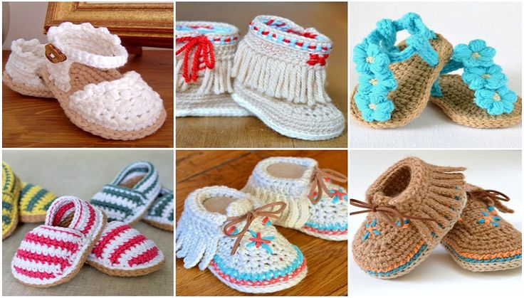 They are great to keep the little toes and feet warm and fashionable. Some of the patterns are easy for the beginners. Others are fun to work up for the more experienced crocheters. They just scream t
