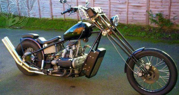 custom honda gold wing bobbers, choppers and cafe racers - bikerMetric