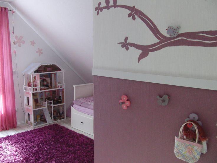 Pépinière & # 39; Chambre de fille – notre nouvelle maison – spectacle de chambre   – Girls Room