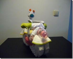 In september 2011 werd er een nichtje van mijn vriend geboren. Nu kan ik natuurlijk niet met een simpel kant en klaar cadeau aankomen. Ik wi...