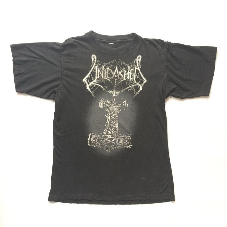 1993 Unleashed vintage band T-shirt M/L Burzum by Teejerker