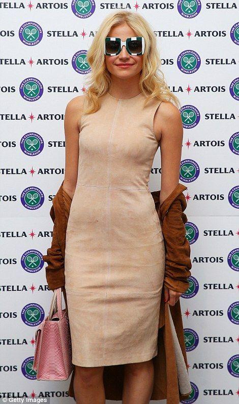 Pixie Lott at Wimbledon...