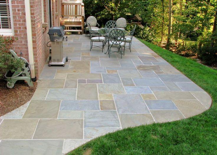Wonderful Backyard Flagstone Patio Ideas | Flagstone Patio Gallery | Flagstone Patio  Pictures | Natural Stone Patio