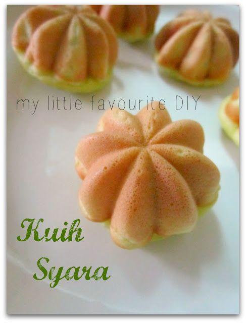 my little favourite DIY: Kuih Syara
