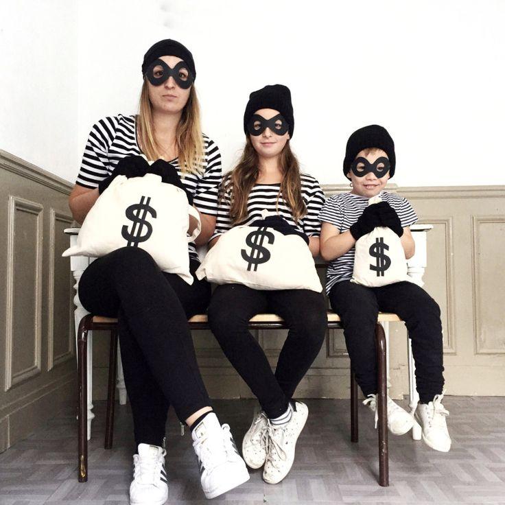 DIY Retour sur notre déguisement d'Halloween en famille! Deg