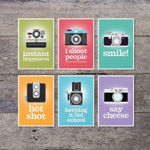 I shoot people - retro lomo camera poster