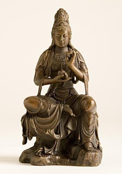 Ziji - Kuan Yin with Lotus, $123.00 (http://www.ziji.com/products/meditation-supplies/buddhist-statues/kuan-yin-with-lotus/)