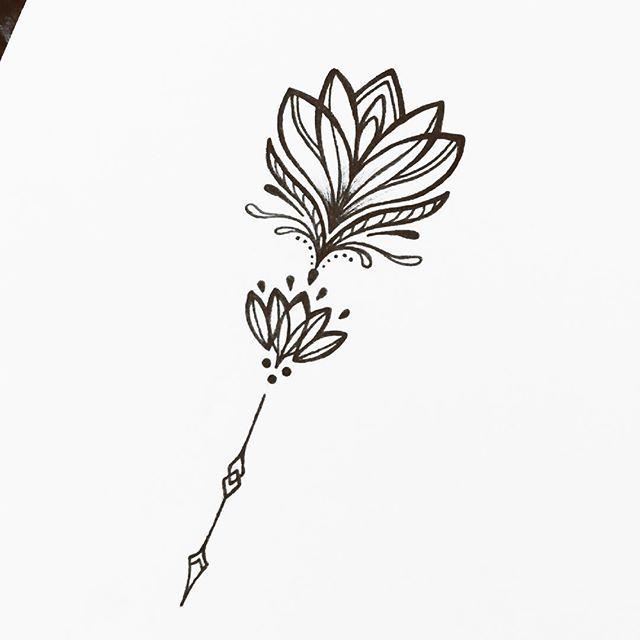 Best 25 Simple Lotus Flower Tattoo Ideas On Pinterest