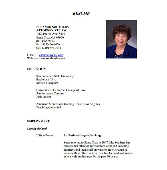 Lawyer Resume Template – 10+ Free Word, Excel, PDF Format Download! | Free & Premium Templates