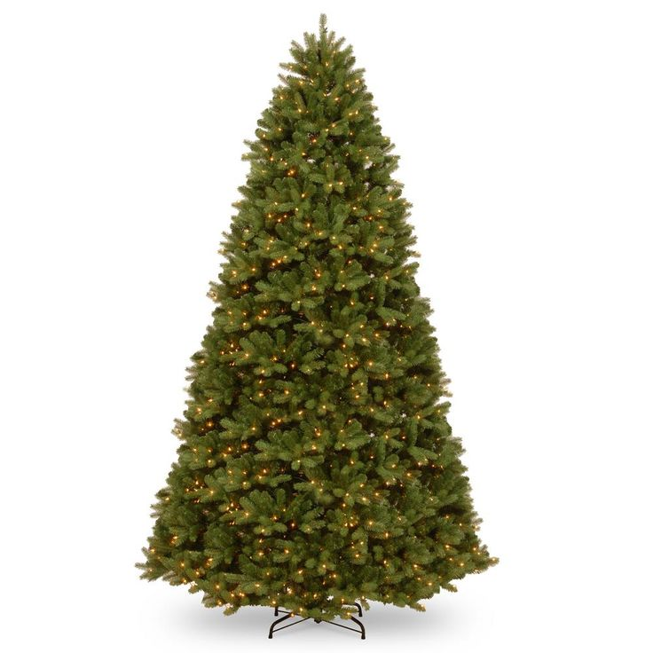National Tree Company 10 ft. Feel Real Newberry Spruce