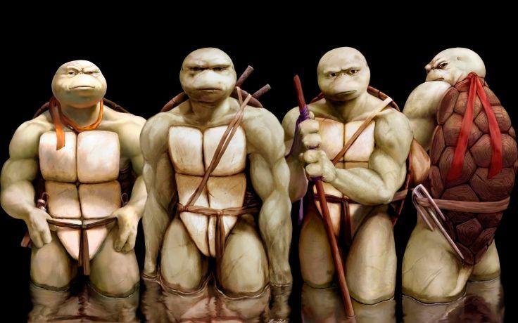 Teenage Mutant Ninja Turtles - Maskless