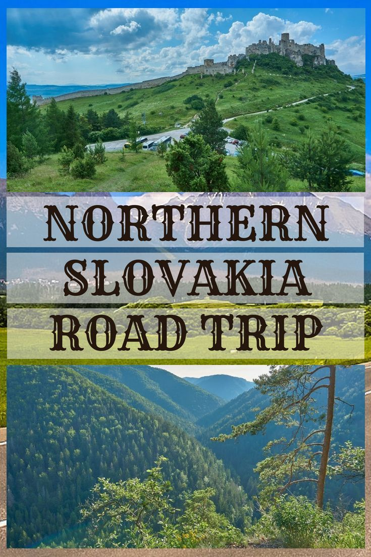 Northern Slovakia Road Trip Spis Castle Thermal Park Vrbov Tomasovsky Vyhlad Slowakije Reizen Bratislava
