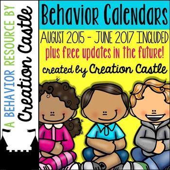 My editable monthly behavior calendars saved my time and my sanity when it came to parent communication... maybe they can help you too! Stop spending so much time writing notes home about behavior! Use these editable behavior calendars to create a behavior code and minimize your time wasted writing lengthy notes for common/repeated behaviors in class.A behavior calendar helps you to easily communicate with your parents daily.A behavior calendar provides daily behavior documentation.A…