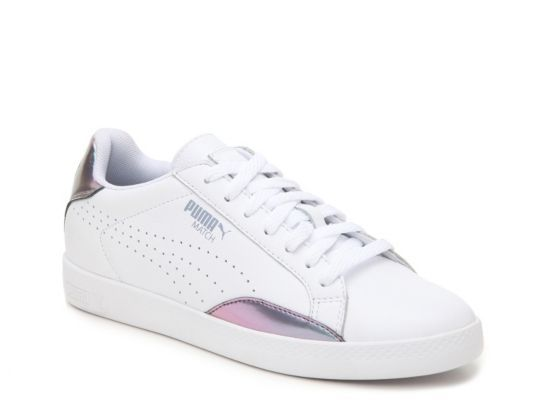Women's Puma Match Lo Retro Sneaker -  - White