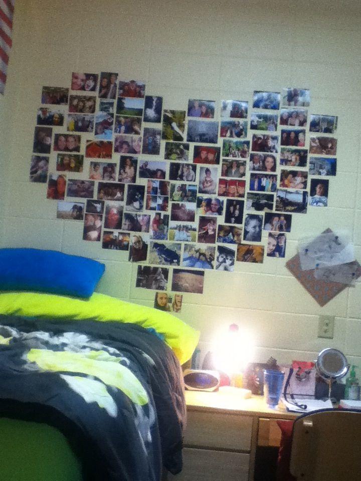 17 Best ideas about Dorm Picture Walls on Pinterest  Dorm  ~ 184300_Crazy Dorm Room Ideas