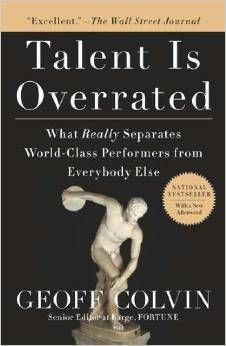 Based on scientific research, Talent is Overrated shares the secrets of extraordinary performance and shows how to apply these principles. It features the stories of people who achieved world-class greatness through deliberate practice-including Benjamin Franklin, comedian Chris Rock, football star Jerry Rice, and top CEOs Jeffrey Immelt and Steven Ballmer.