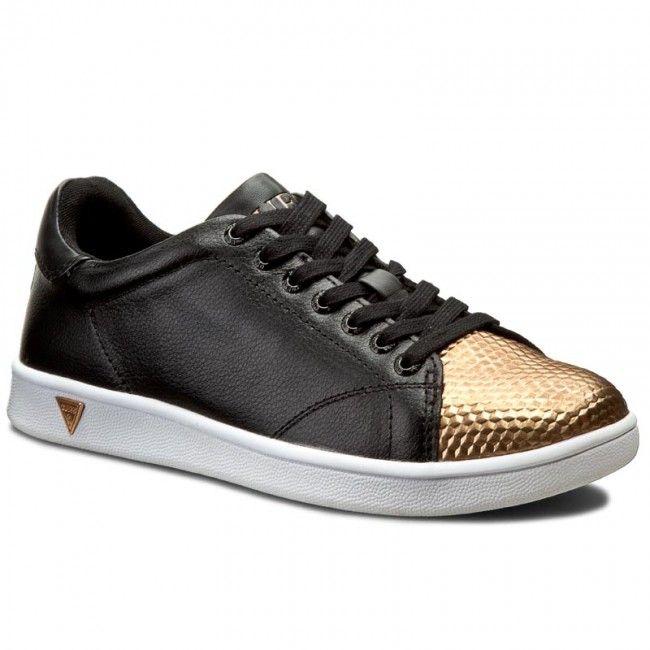 Sneakersy GUESS - Super FLSPR1 LEM12 BLACK