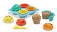 Melissa Doug Seaside Sidekicks Sand Cupcake Set 6431 NEW