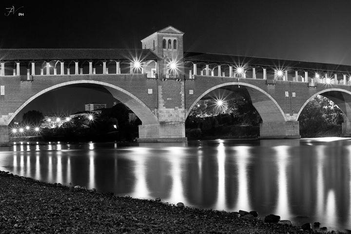 Ponte coperto, Pavia
