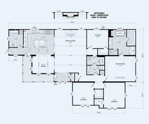 Cavalier Homes Multisection Plan The Mcgarrity Available