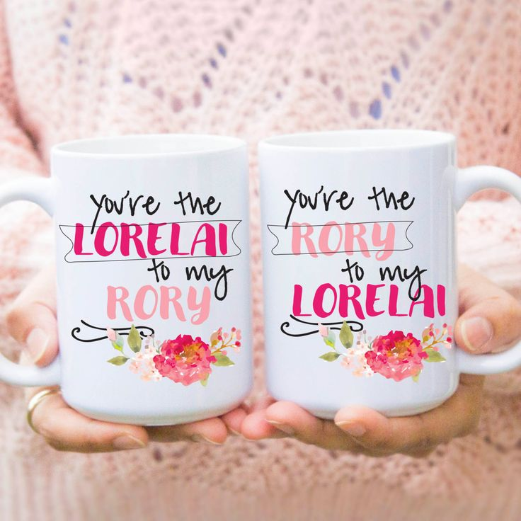 """best friend mugs, """"you are the lorelai to my rory"""" gilmore girls, gilmore girls mug, gilmore girls coffee mug, 11oz 15 oz mug gifts, MU117 by artRuss on Etsy"""