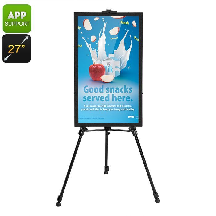 Intelligent 27 Inch Commercial Sign Android OS Audio Out iOS + Android App: Bid: 683,40€ Buynow Price 683,40€ Remaining 09 dias 05 hrs
