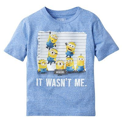 Despicable Me Minion Line Up Tee - Boys 8-20