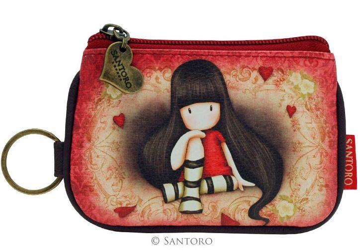 Monedero de Gorjuss con Cremallera The Collector #gorjuss #santoro #santorolondon #accessories #pouches #purses #accesorios #monederos #xtremonline #gothic #goth #gotico