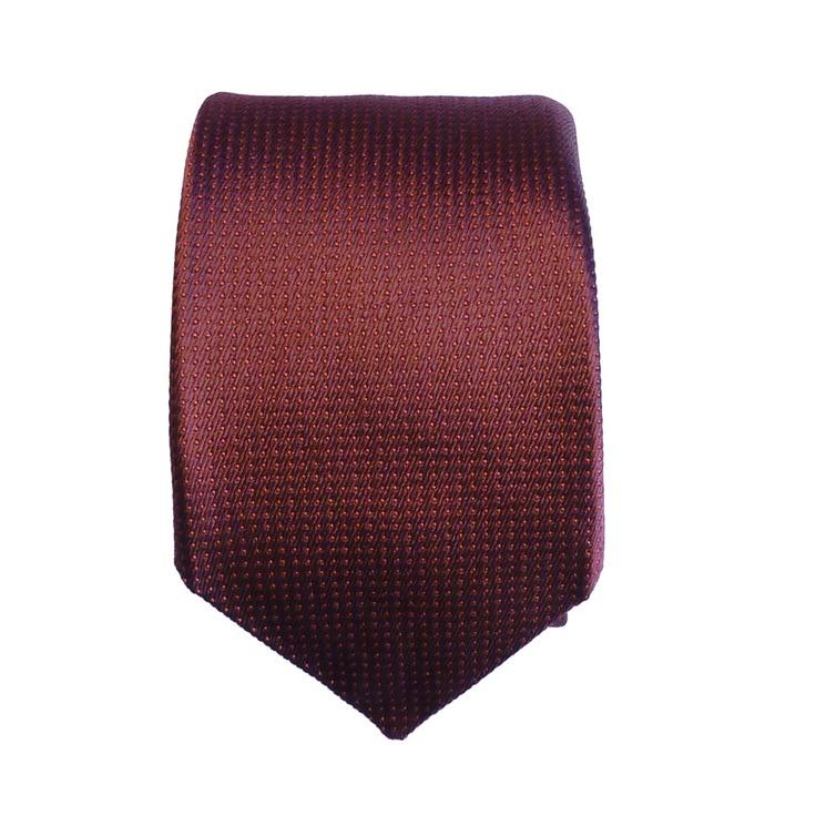 Denisonboston Superdot Red Tie