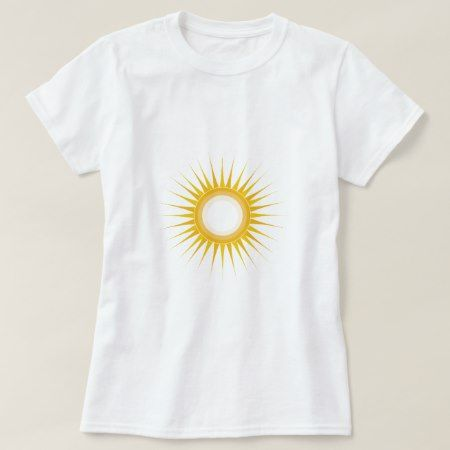 Sun Design T-Shirt - tap, personalize, buy right now!