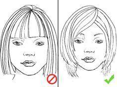 Für jede Gesichtsform die perfekte Frisur – #die …