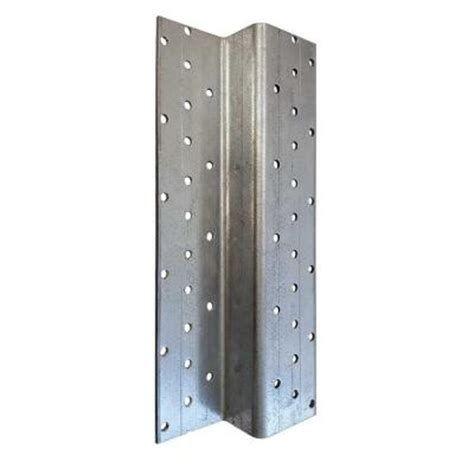 Z Post 1.6 in. x 4.75 in. x 7.5 ft. Galvanized Steel Z ...