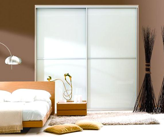 Bedroom Inspiration (soft, Natural Palette And Frosted Glass Sliding Closet  Doors)