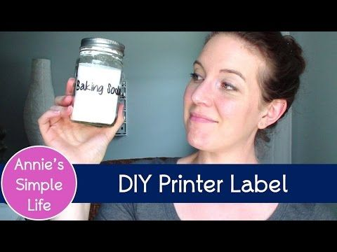 "Does It REALLY Work?? - DIY Clear Printer Label - Comment: ""Laser Printer works Great same steps. Inkjet not so much just like her   Work had an laser and worked great I had fun making labels.  i have an inkjet at home failed I was so sad."""