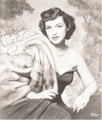 Rise Stevens mezzo-soprano opera singer, Caygill Summer