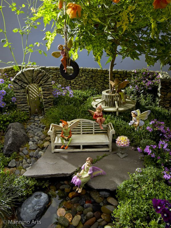 Remember when? A walk down memory lane.: Fairy Gardens...