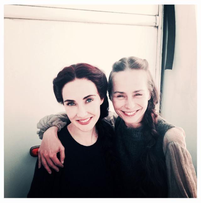 Carice van Houten and Tara Fitzgerald