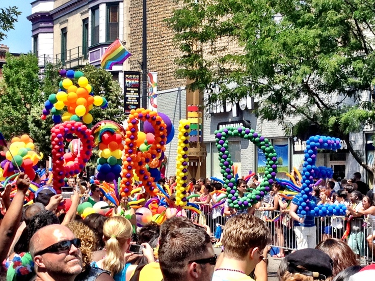 The Chicago Pride parade has to be one of the best times ever. Everyone regardless of orientation has a blast!