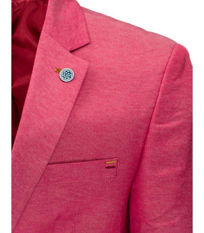 Pánske ležérne ružové sako