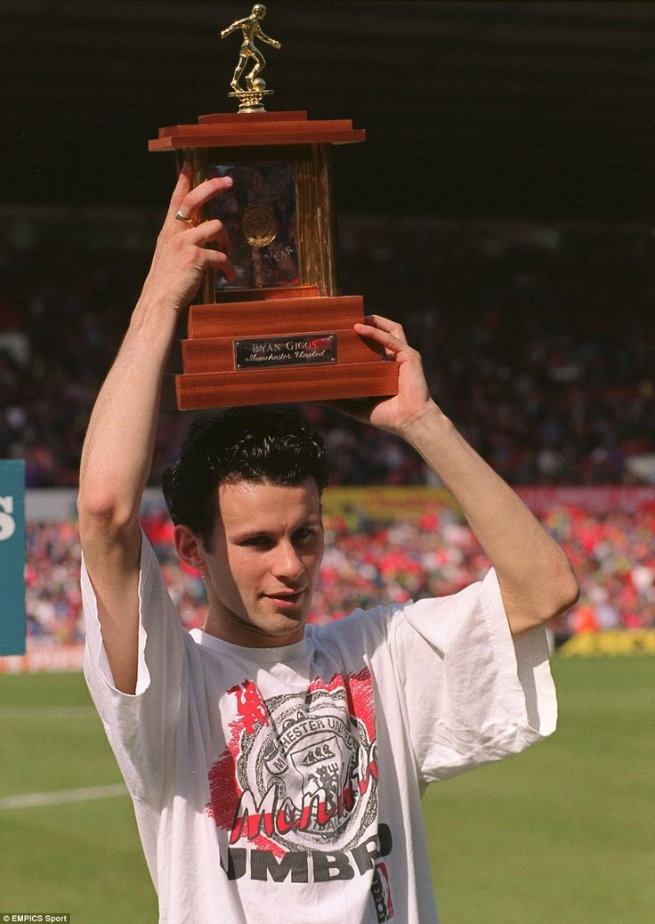 Ryan Giggs became the first to win the PFA Young Player of the Year award twice