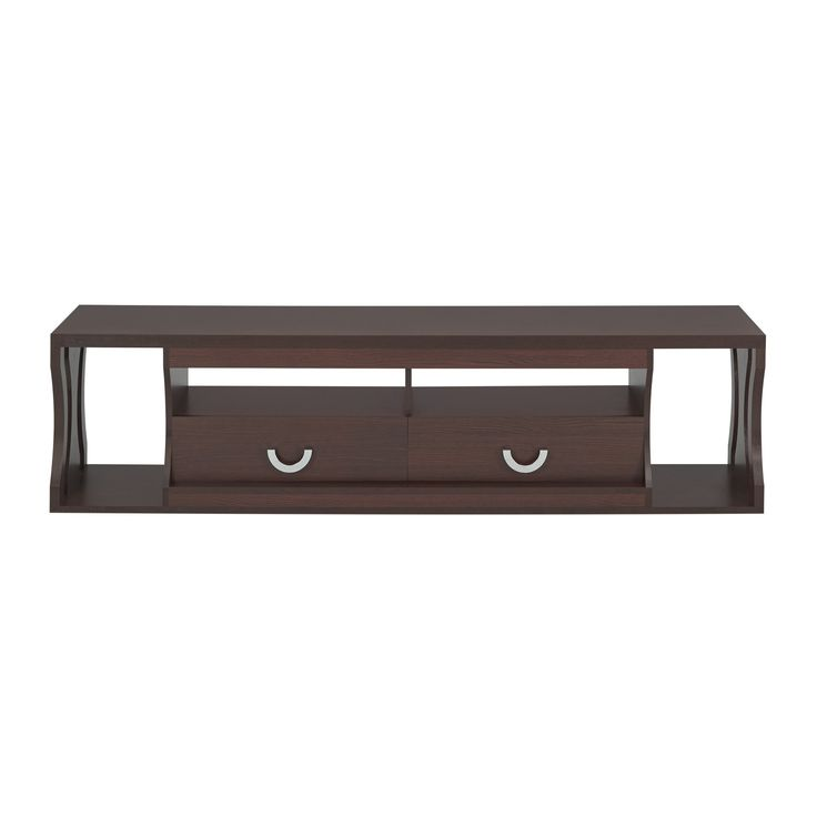 Iohomes Martine Contemporary Tv Stand 70 Espresso - Homes: Inside + Out, Coffee Bean
