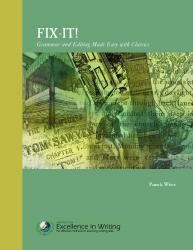 Affordable and Contextual Grammar Program: Fix-It (Curriculum Review)