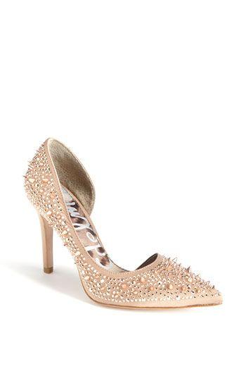 Fierce:. Studded nude pumps!: Pixie Pump, Sam Edelman, Fashion Shoes, Girl, Style, Wedding Shoes, Edelman Shoes, Ladies Shoes, Edelman Pixie