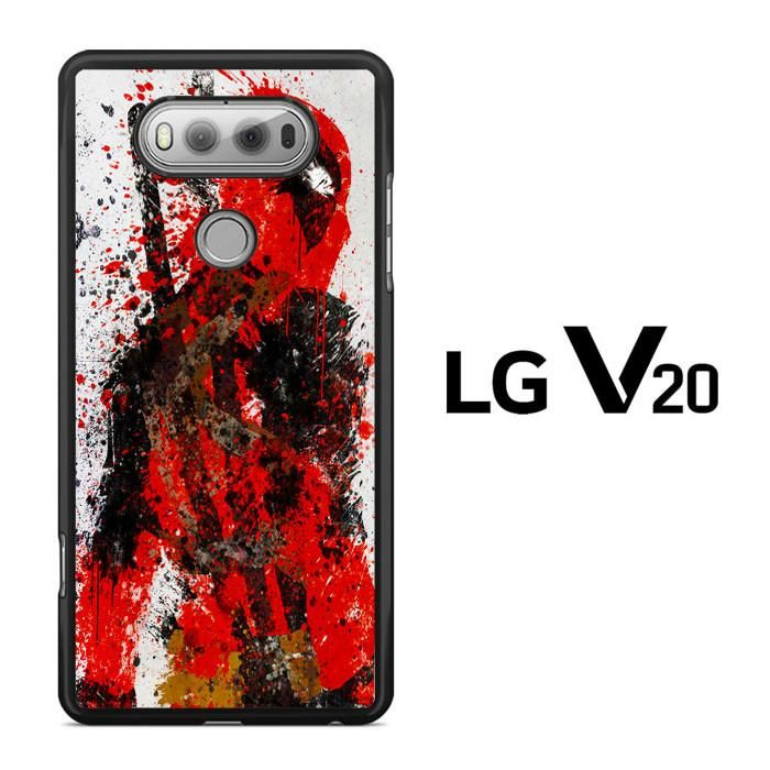 Deadpool Paint Splat LG V20 Case Dewantary