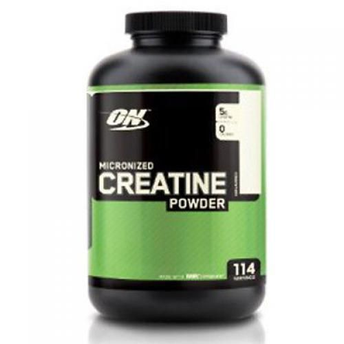 New Optimum Nutrition Creatine Powder Unflavored 600g Micronized Monohydrate #Optimum